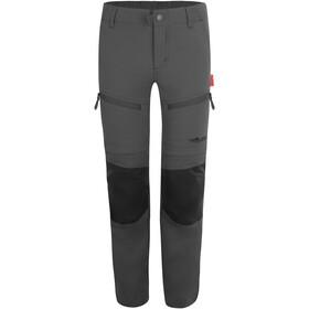TROLLKIDS Nordfjord Pantalones Zip Off Niños, gris
